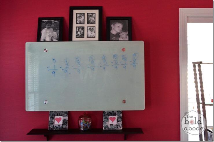 Desk White Board