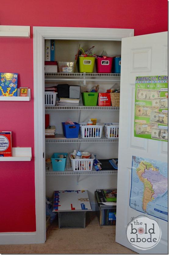 Inside the School Supply Closet