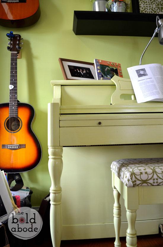 pear green piano