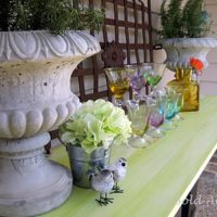 Reclaimed Columns Buffet