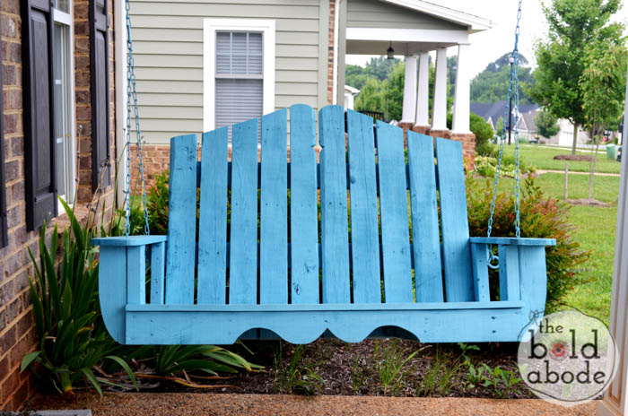 How to Alter Regular Porch Swing Plans
