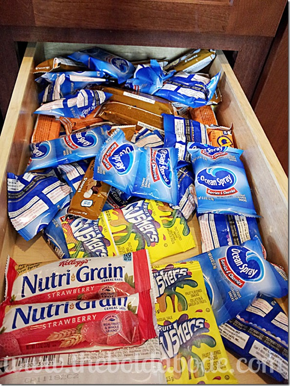 Healthy Snacks Kids! Two snack drawer solution    - The Bold