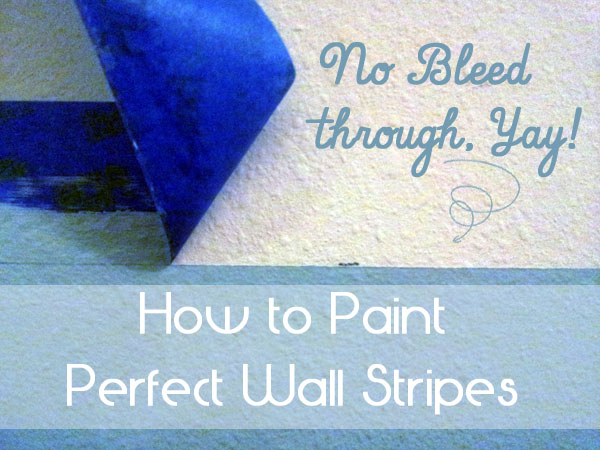 Painting perfect stripes on your walls for Things to paint on your wall