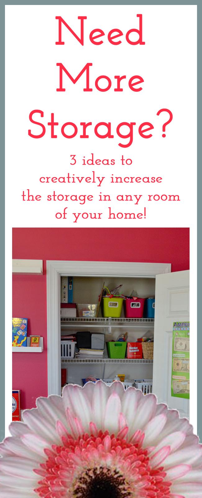 3 Creative Storage Solutions, Baby