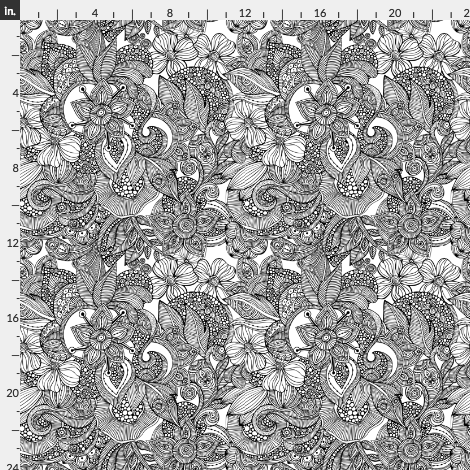 cute doodles wallpaper from spoonflower