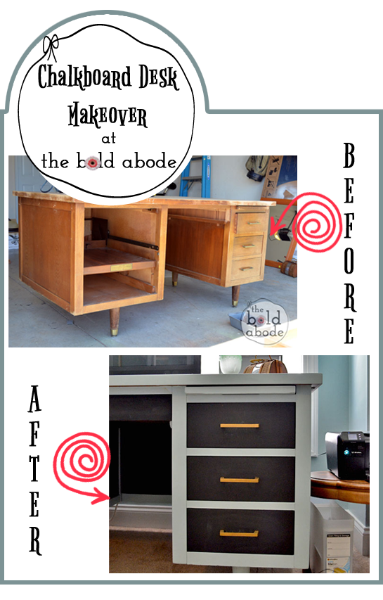 Chalkboard-Desk-Makeover