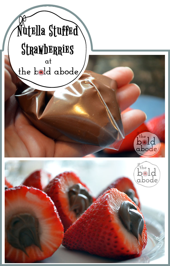 How to Make Nutella Stuffed Strawberries: One easy tip you need to know!