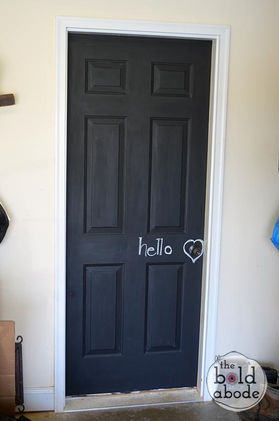 Chalkboard-door