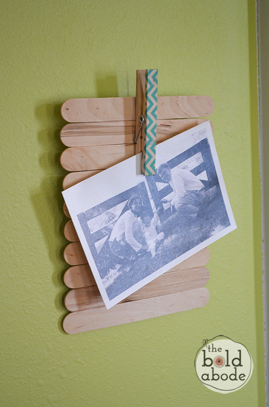 hang-frame-on-wall