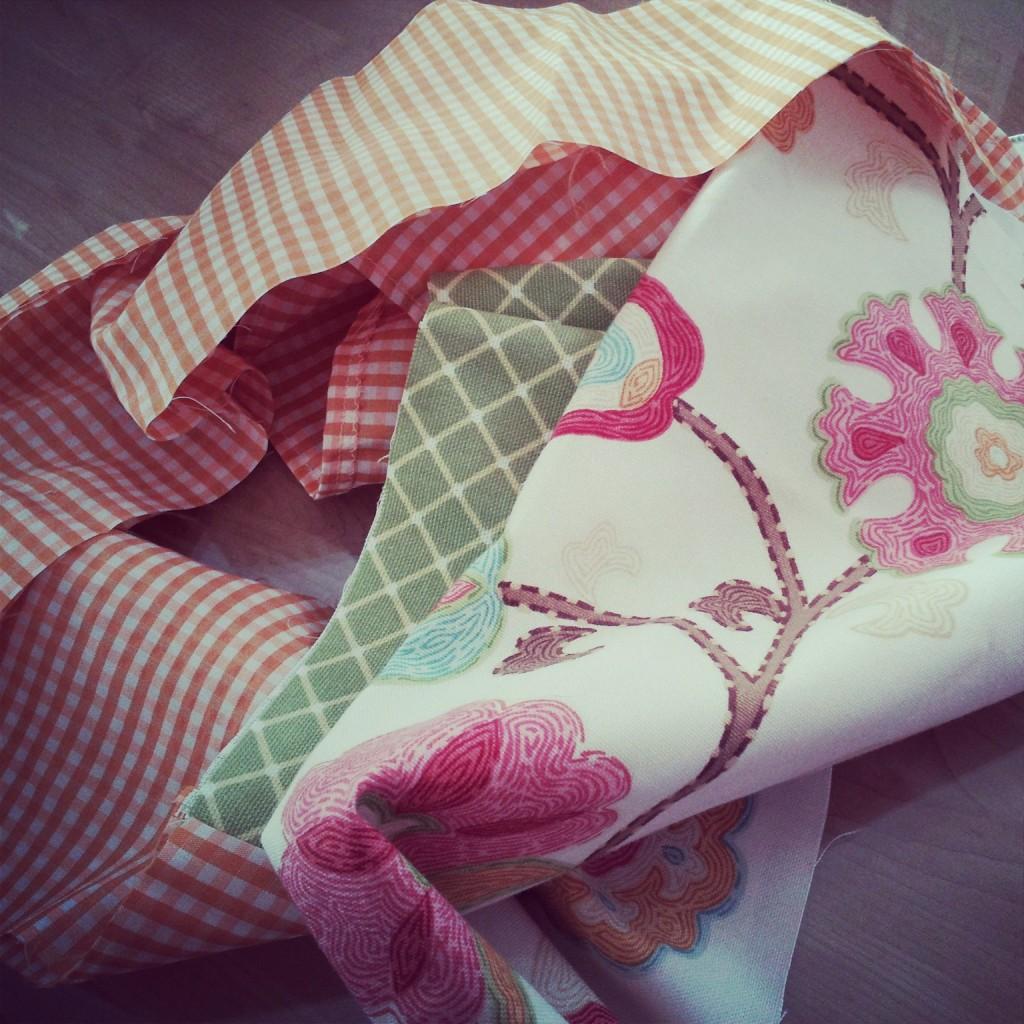 Apron found in fabric stash!