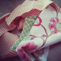 Simple Sewing Tips and How to Make a Vintage Inspired Apron: An I