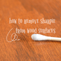 How to Remove Sharpie from Wood Surfaces
