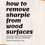 wood with graphic text overlay