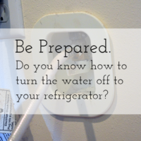 How to Turn Off the Water to Your Refrigerator