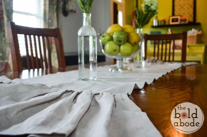 Flax Linen Table Runner