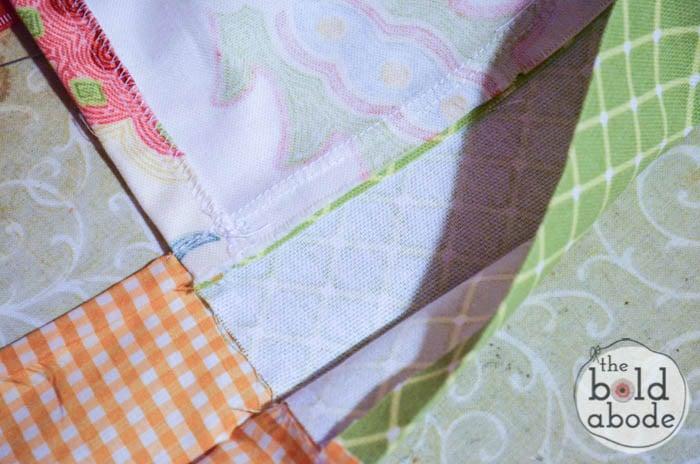 how to make an apron waistband-7