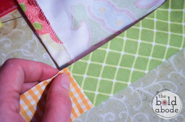 how to make an apron waistband-8