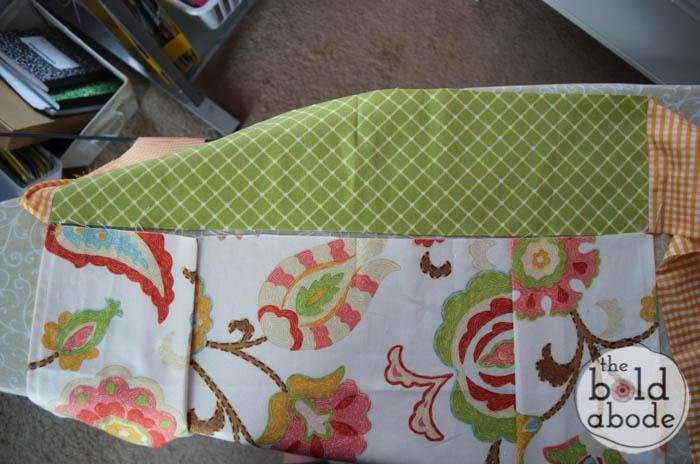 how to make box pleats-4