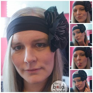 Super Cute Fabric Flower Headband Collage