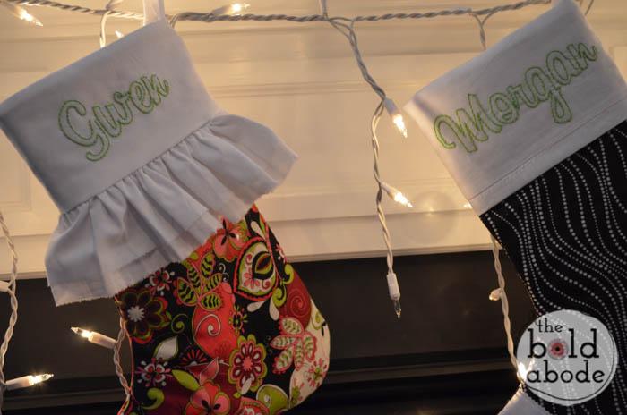 Christmas Stockings Gone Bold!