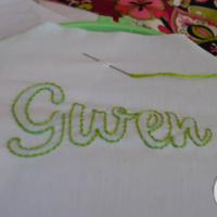 How to do Shadow Embroidery: It's So Stinkin' Easy Yo