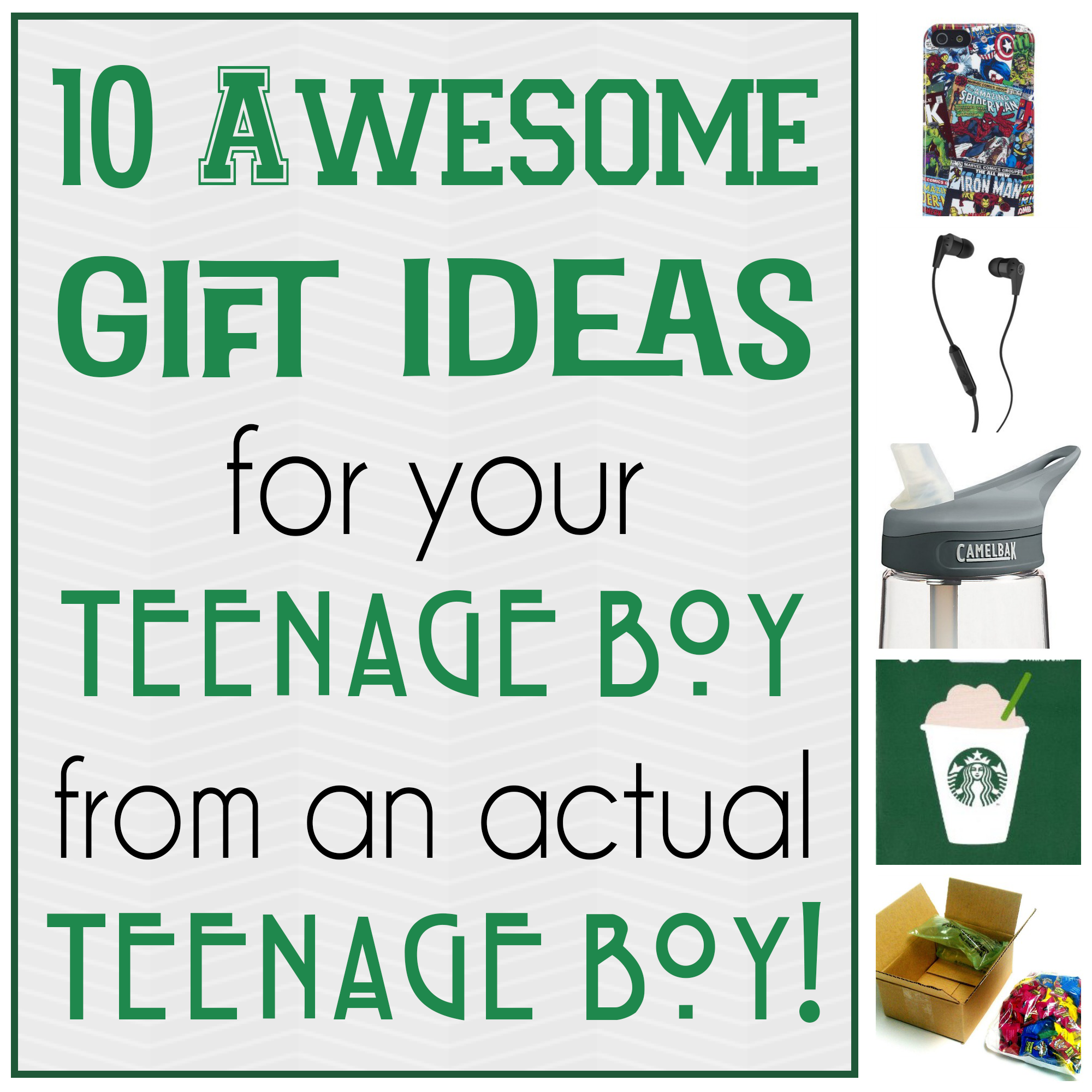 10 Awesome Gift Ideas for Teenage Boys