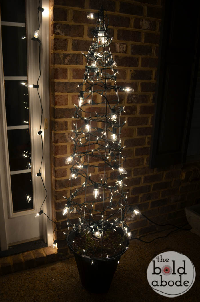 Tomato Cage Christmas Trees.Tomato Cage Christmas Trees 11 The Bold Abode