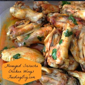 Honeyed-Sriracha-Chicken-Wings