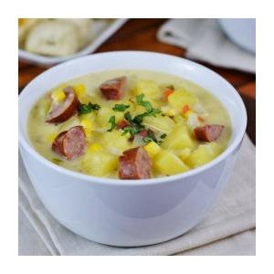 Kielbasa Potato Soup 2