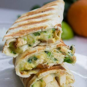 Quick-and-Easy-Chicken-Burritos-with-Sour-cream-Cilantro-Sauce-71