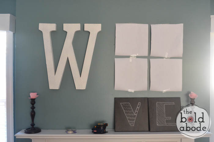 Giant Letter W-2