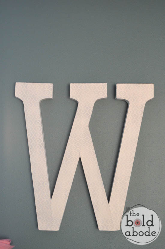 Giant Letter W-4