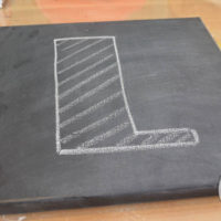 Chalkboard LOVE Canvases