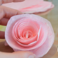 make coffee filter flowers-11