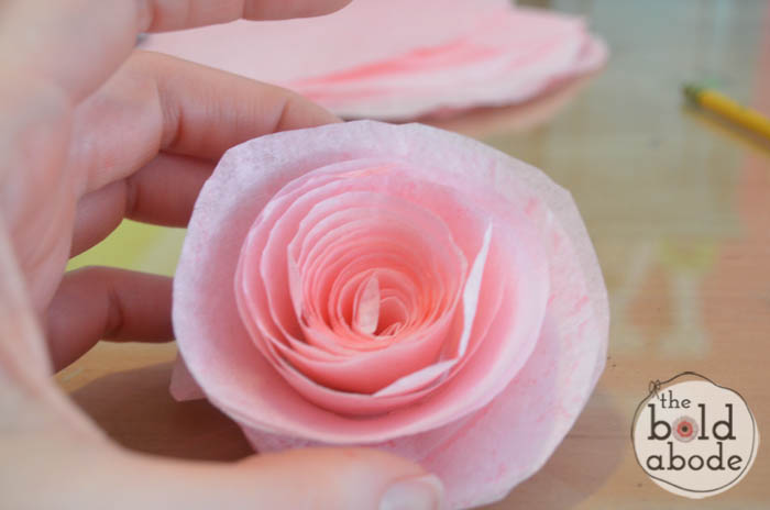 make coffee filter flowers-11