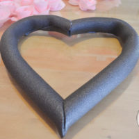 How to Make a Heart Wreath Form