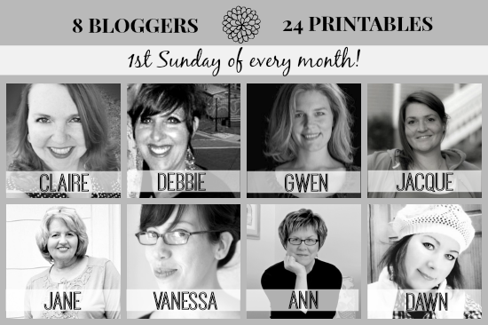 printables group post graphic