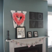 Oh, Valentine Mantel, where have you been all my life? {especiall