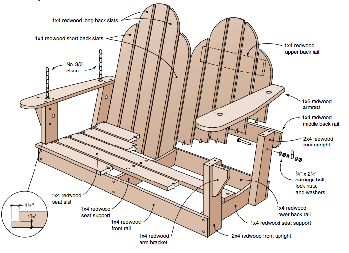 Pallet Patio Swing how to alter regular porch swing plans for a unique porch swing