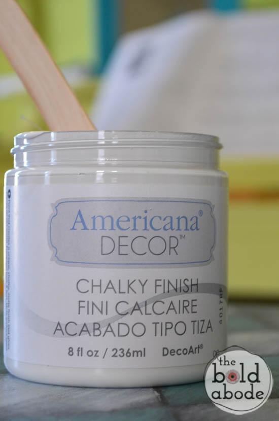 chalky paint sunburst console-10