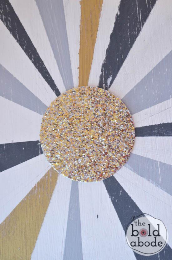chalky paint sunburst console-15