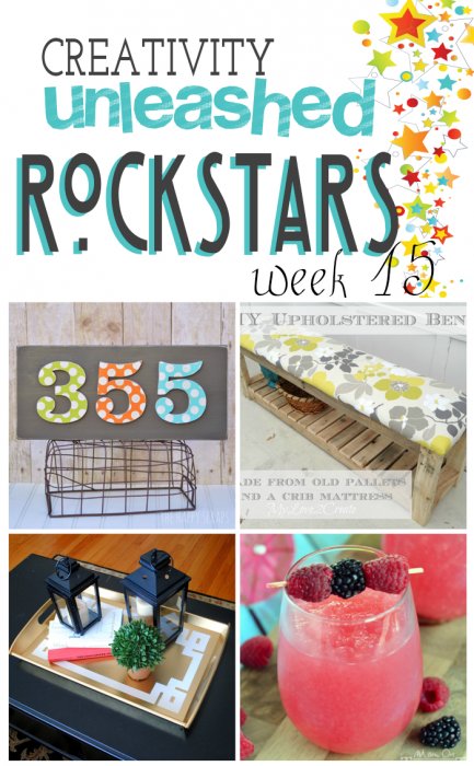 Voting is open for The MEGA ROCKSTAR!  Come vote for your favorite DIY Project and help them get the win!