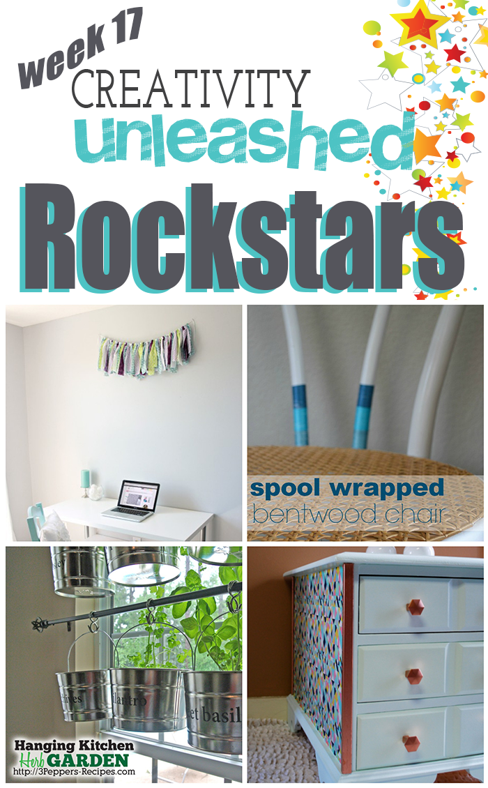 4 Stellar ROCKSTAR DIY Projects from Creativity Unleashed Week 17!