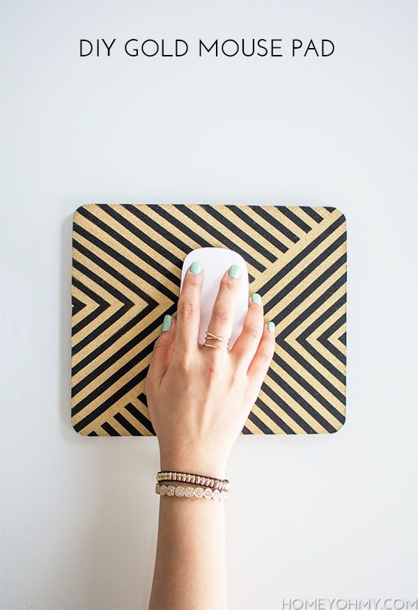 DIY-Gold-Mouse-Pad1