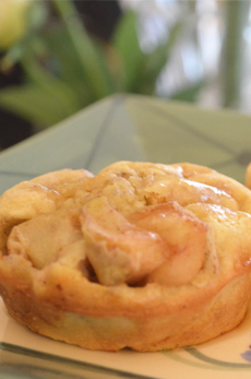 Mouthwatering Gluten Free Apple Popovers