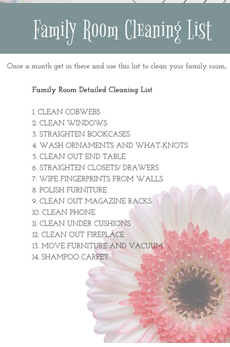 cleaning-lists