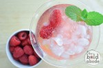 Homemade Sparkling Raspberry Water: Oh the Deliciousness…