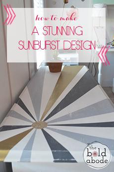sunburst-console