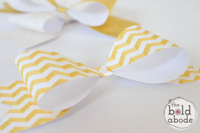 Super Cute Gold Bows