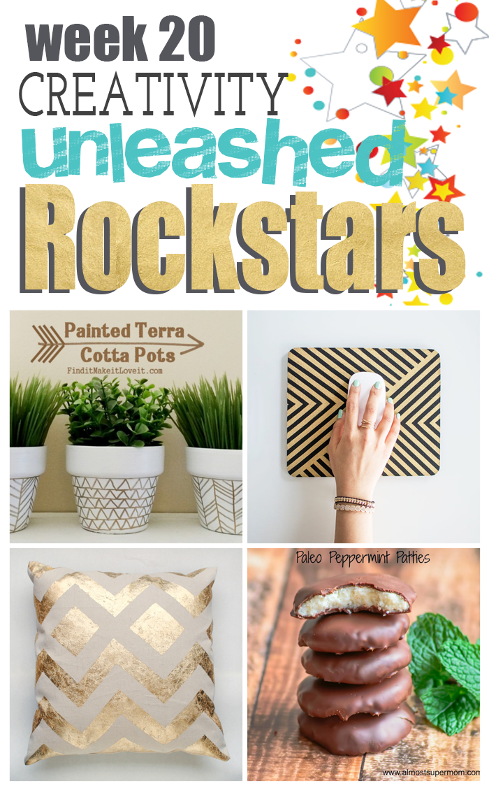 4 totally awesome DIY Projects from some DIY Rockstars!